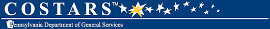 COSTARS Member - Pennsylvania Department of General Services