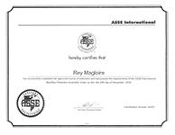 ASSE Backflow Certification